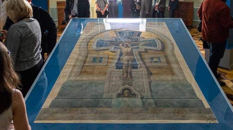В Петербурге показали работы создателя Спаса на Крови