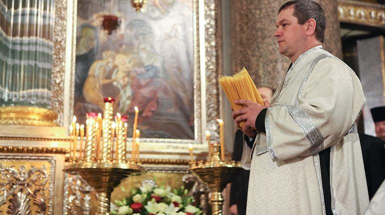 В Казанском соборе состоялось всенощное бдение