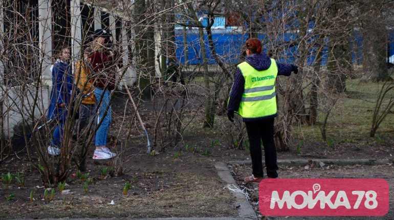 Катание на вейкбордах и фото в соцсетях: в Петербурге прошел субботник