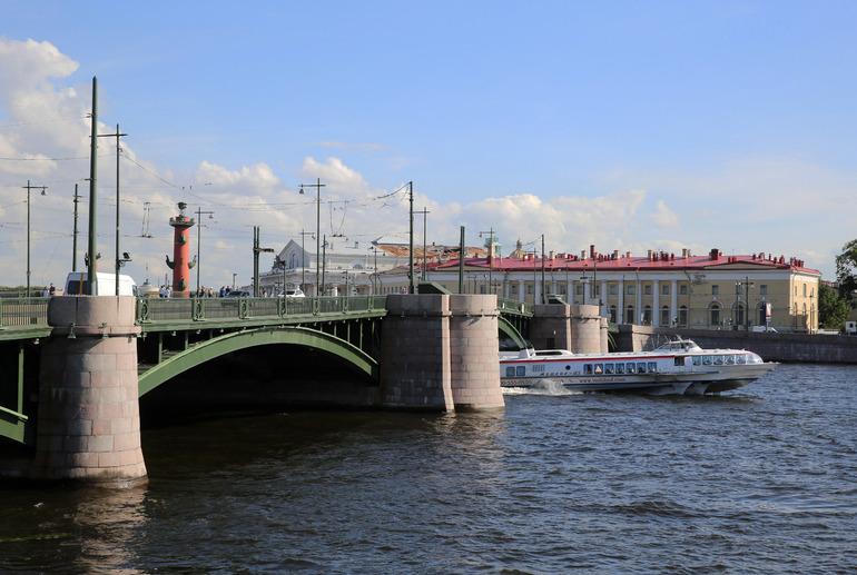 Главгосэкпертиза одобрила проект реконструкции Биржевого моста