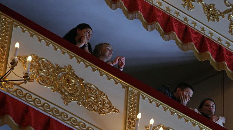 Зрители в Александринском театре. Фото: Baltphoto/Дарья Иванова