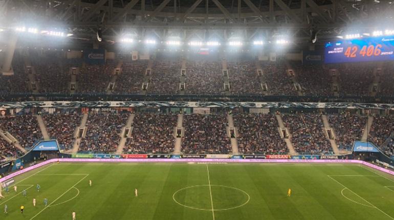 Матч «Зенита» и «Динамо» стал самым посещаемым в очередном туре РПЛ
