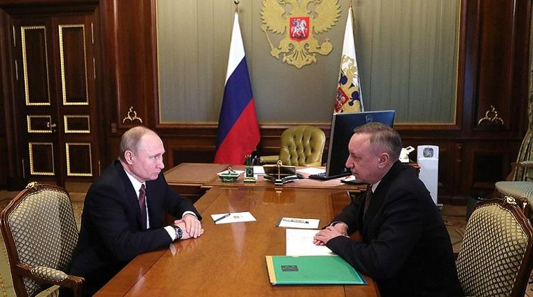 Беглов рассказал Путину, сколько денег выделил Петербургу Минфин