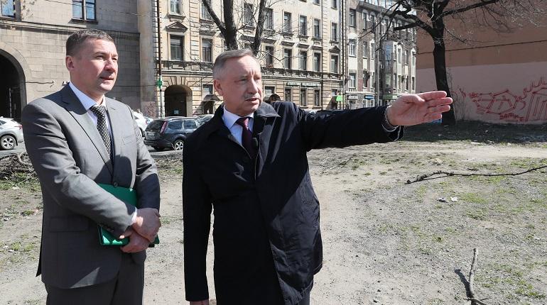 Беглов посетил Петроградский район. Фото: gov.spb.ru