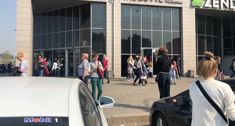 Эвакуация. Фото: vk.com