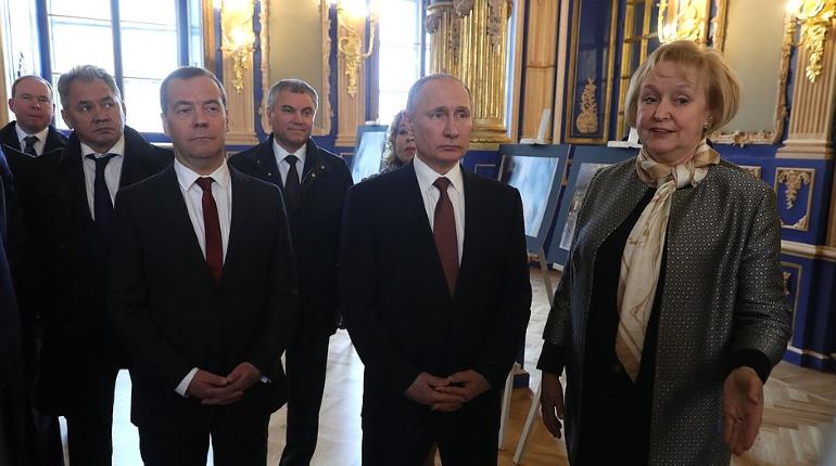 Путин в Царском селе. Фото: Kremlin.ru