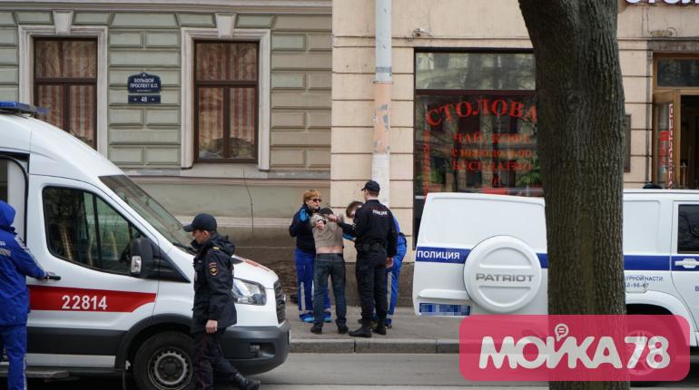 Полиция на Васильевском острове. Фото: Мойка78/Николай Овсянников