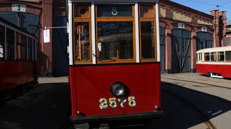 Блокадный трамвай. Фото: Мойка78/Николай Овсянников