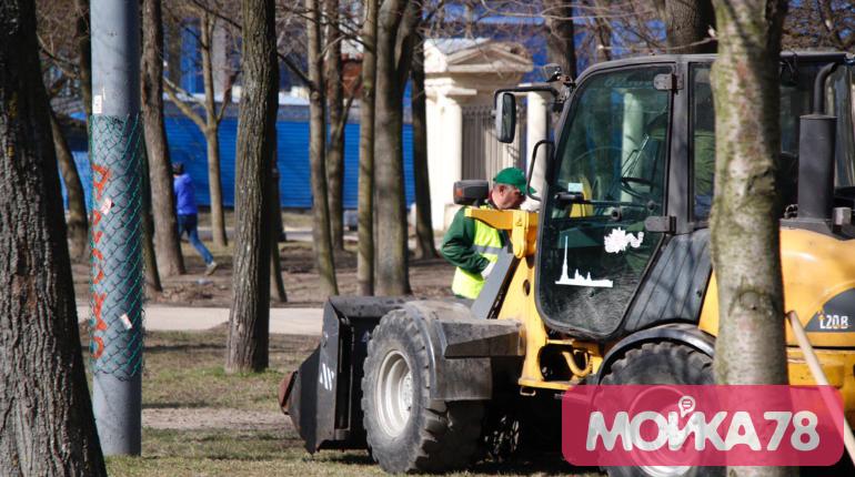 День благоустройства в Петербурге: фоторепортаж «Мойки78»