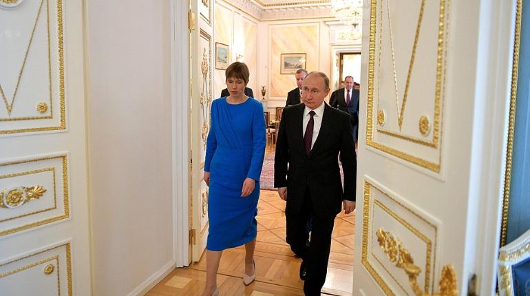 Литва раскритиковала Эстонию за поездку Кальюлайд в Россию