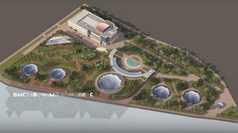 Беглов во «ВКонтакте» показал проект парка вместо судебного квартала