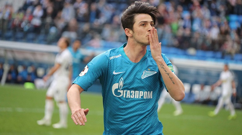 Игрок «Зенита» Азмун может отправиться в «Арсенал» при содействии Аршавина