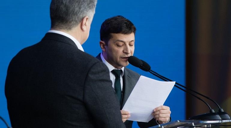 Штаб Зеленского пообещал рассказать правду о конфликте в Донбассе