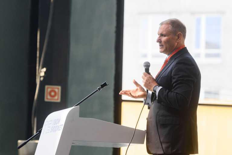Вице-губернатор Петербурга Евгений Елин. Фото: официальный сайт Администрации Петербурга