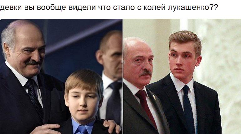 Возмужавший сын Лукашенко покорил пользовательниц Сети