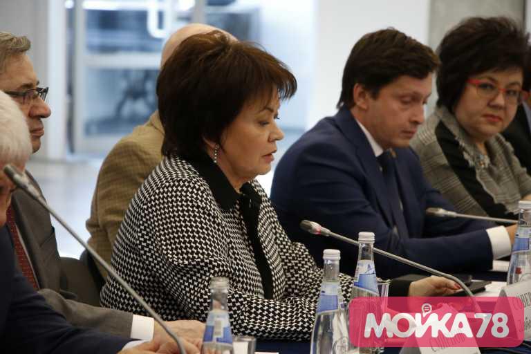 Вице-губернатор Петербурга Любовь Совершаева. Фото: Мойка78