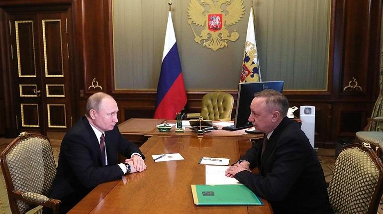 «Тучков буян» станет ответом «Зарядью»: Беглов рассказал о встрече с Путиным