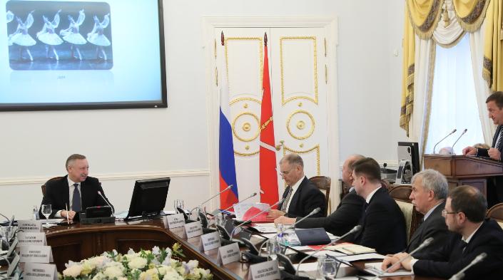 Совещание в администрации Петербурга. Фото: gov.spb.ru