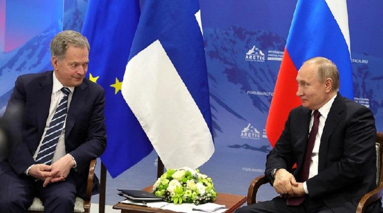 Путин и президент Финляндии поспорили о санкциях