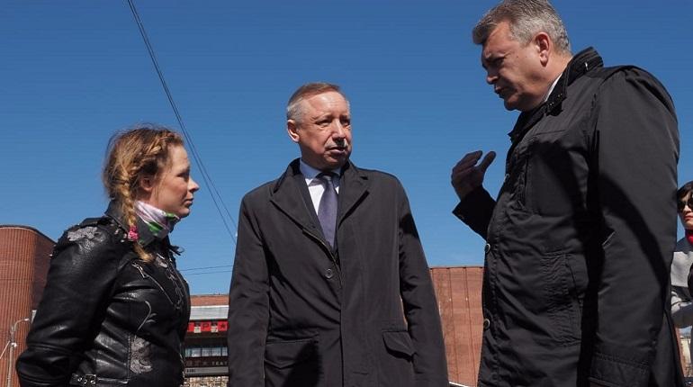 Врио губернатора Александр Беглов. Фото: vk.com/a_beglov