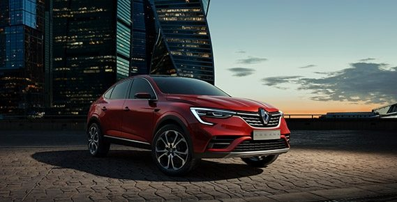 Renault Arkana появился в российском каршеринге
