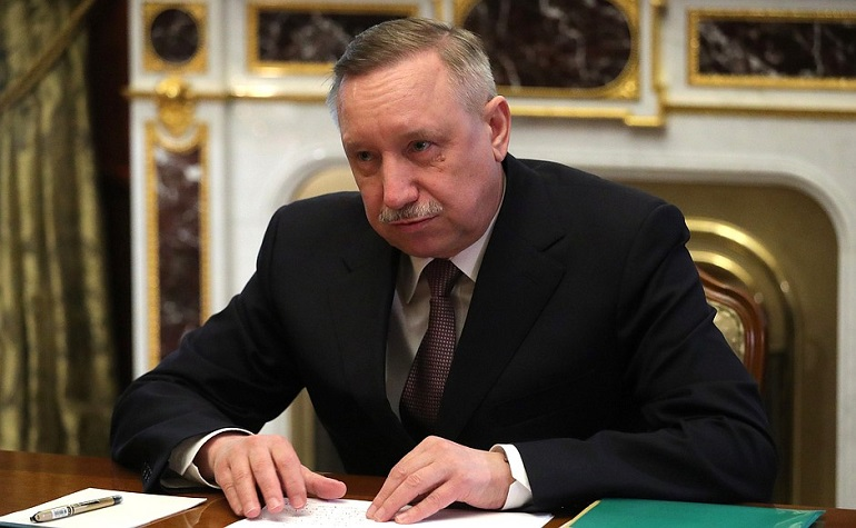 Врио губернатора Петербурга Александр Беглов. Фото: пресс-служба Кремля