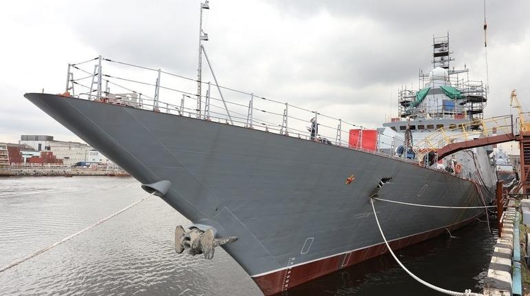 Корвет «Гремящий» впервые испытают в море 21 апреля