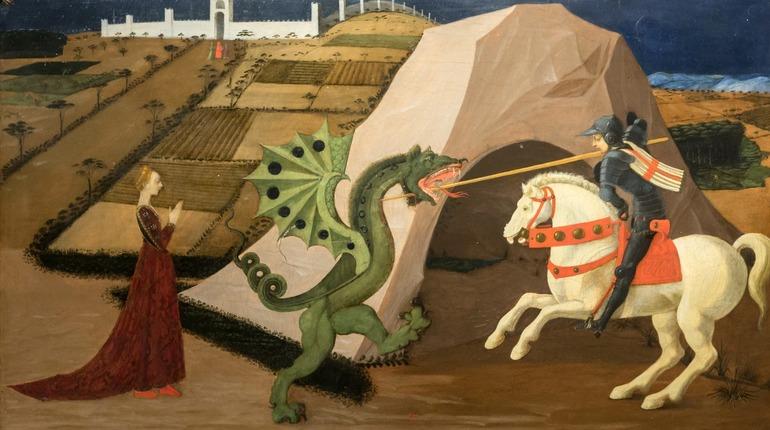 Картину Паоло Уччели привезли в Эрмитаж. Фото: vk.com/hermitage_museum