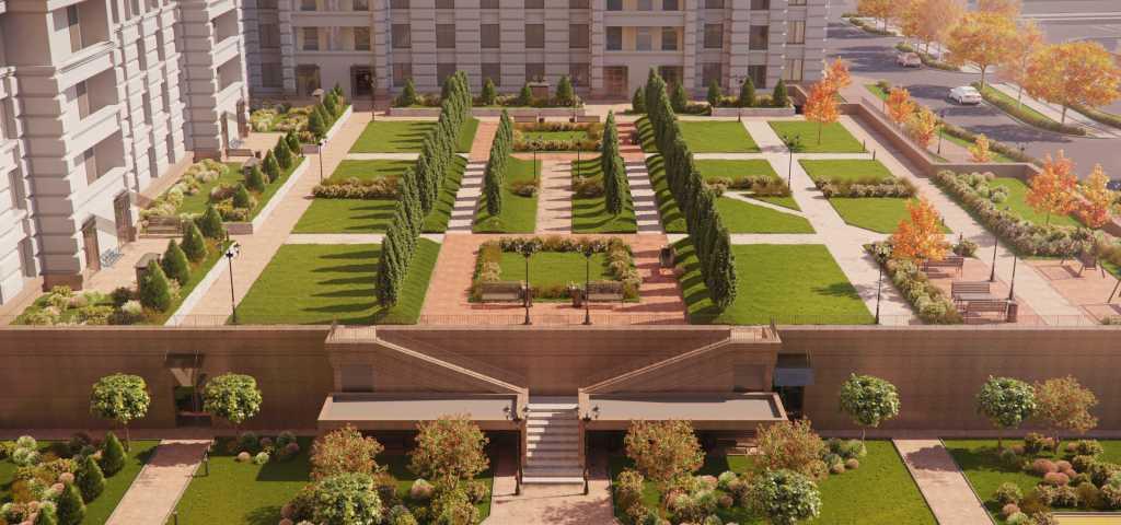 В «Цивилизации на Неве» появится придомовой сад