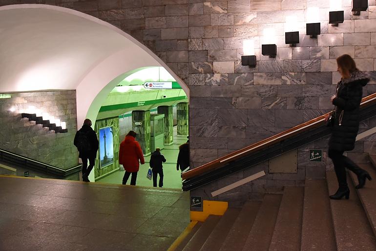 Бесхоз закрыл «Приморскую» для пассажиров