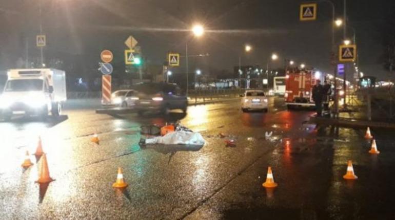 В Купчино мотоциклист погиб в ДТП с иномаркой. Фото: motobratan.ru