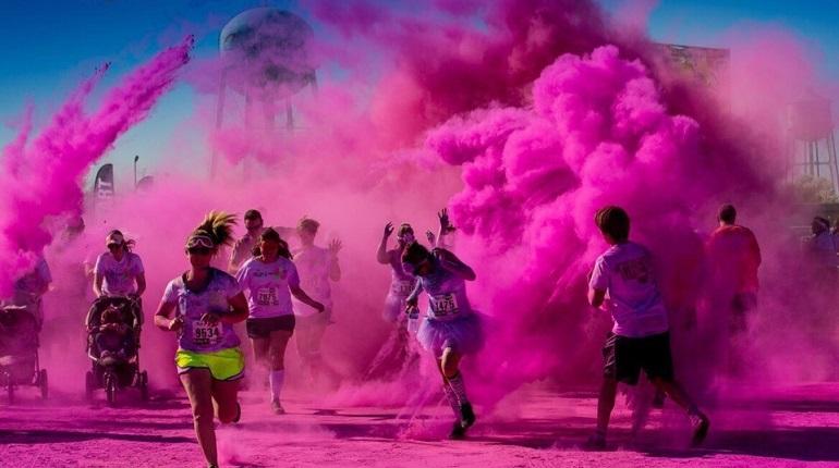 Петербуржцы поменяют цвет на забеге ColorsGo