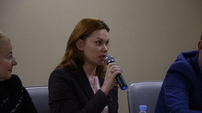Екатерина Олеговна Лебедева, координатор Центрального местного отделения ЛДПР. Фото: Мойка78