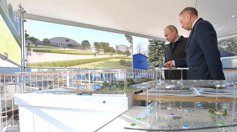 Конкурент «Зарядью»: Путин поддержал открытие парка вместо судебного квартала