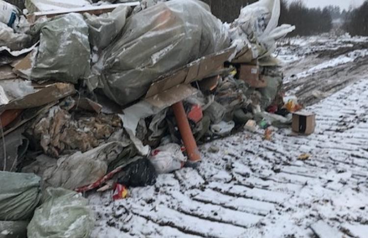 Несанкционированная свалка в Ленобласти. Фото: Росприроднадзор по СЗФО
