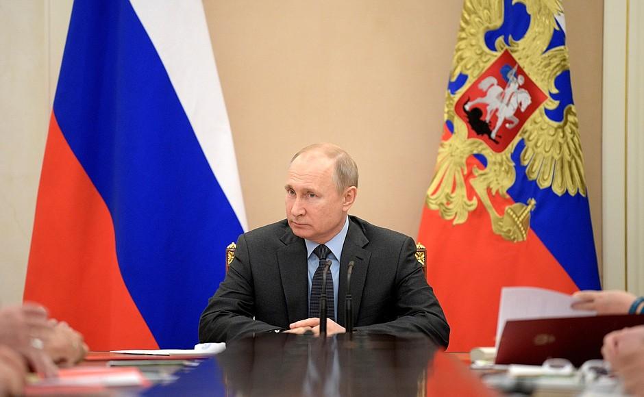 Путин: Наш долг — достойно подготовиться к 75-летию Победы