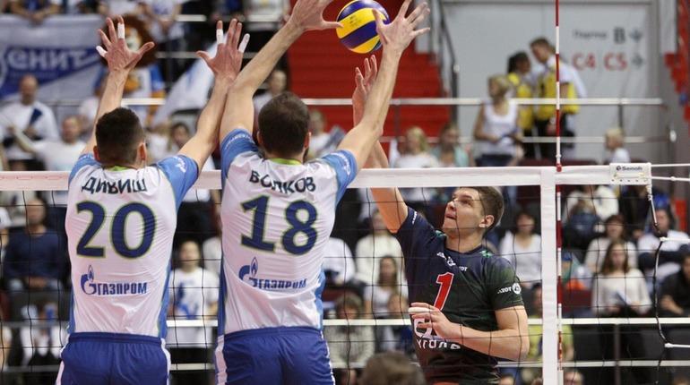 Волейбольный «Зенит» вышел в полуфинал чемпионата России