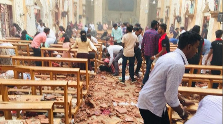 Число жертв взрывов на Шри-Ланке выросло до 262