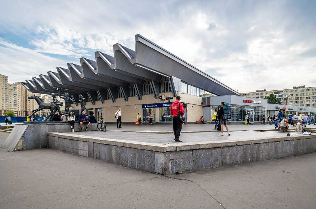 станции метрополитена спб список
