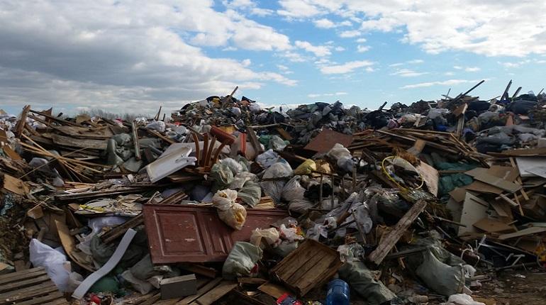 Свалка в Красногвардейском районе. Фото: Комитет  по  природопользованию,  охране  окружающей среды и обеспечению экологической безопасности