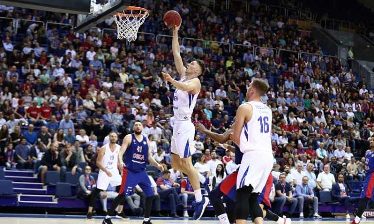Баскетбольному «Зениту» не хватило трех очков для победы над ЦСКА