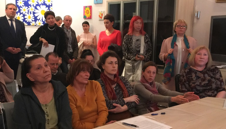 Жители Рубинштейна и депутат Щербакова отправили StandUp на Манежную
