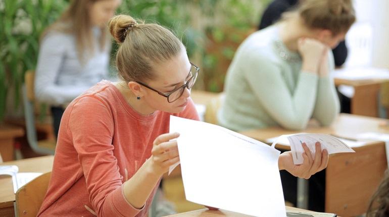 Петербургские школьники сдают ЕГЭ по географии и литературе