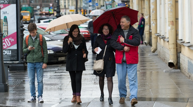 Пятница в Петербурге будет дождливой