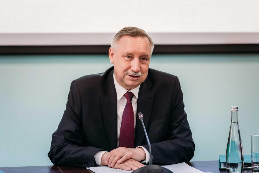 Врио губернатора Петербурга Александр Беглов. Фото: vk.com