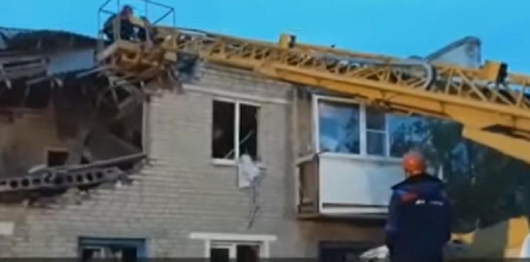 В Сеть выложили видео с места ЧП в Ростовской области