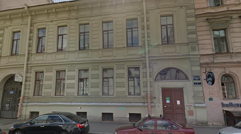 Здание на Разъезжей, 9. Фото: Google Street View