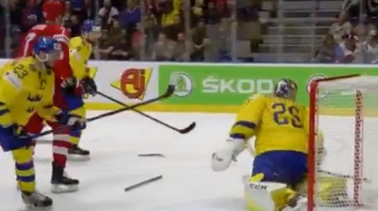 Россия обыграла Швецию на чемпионате мира по хоккею