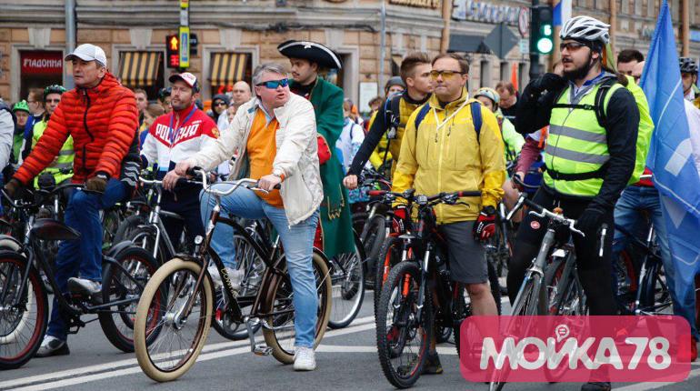 Старт велопарада. Фото: Мойка78/Николай Овсянников