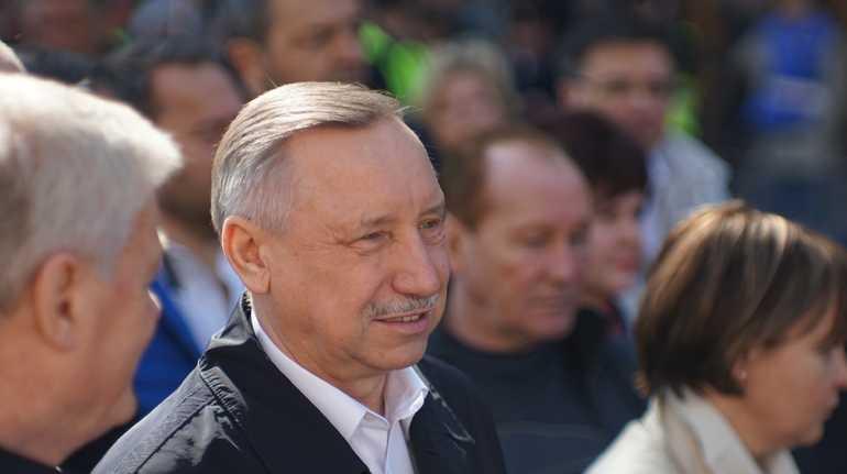 Врио губернатора Петербурга Александр Беглов. Фото: Мойка78/Николай Овсянников